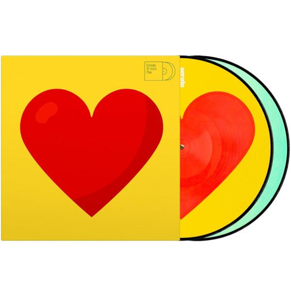 """Serato 2x12"""" Emoji Picture Vinyl Pressung Donut-Heart (Paar)"""