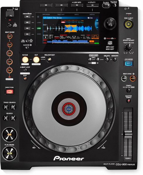 VERMIETUNG - Pioneer CDJ 900 Nexus Single CD-Player